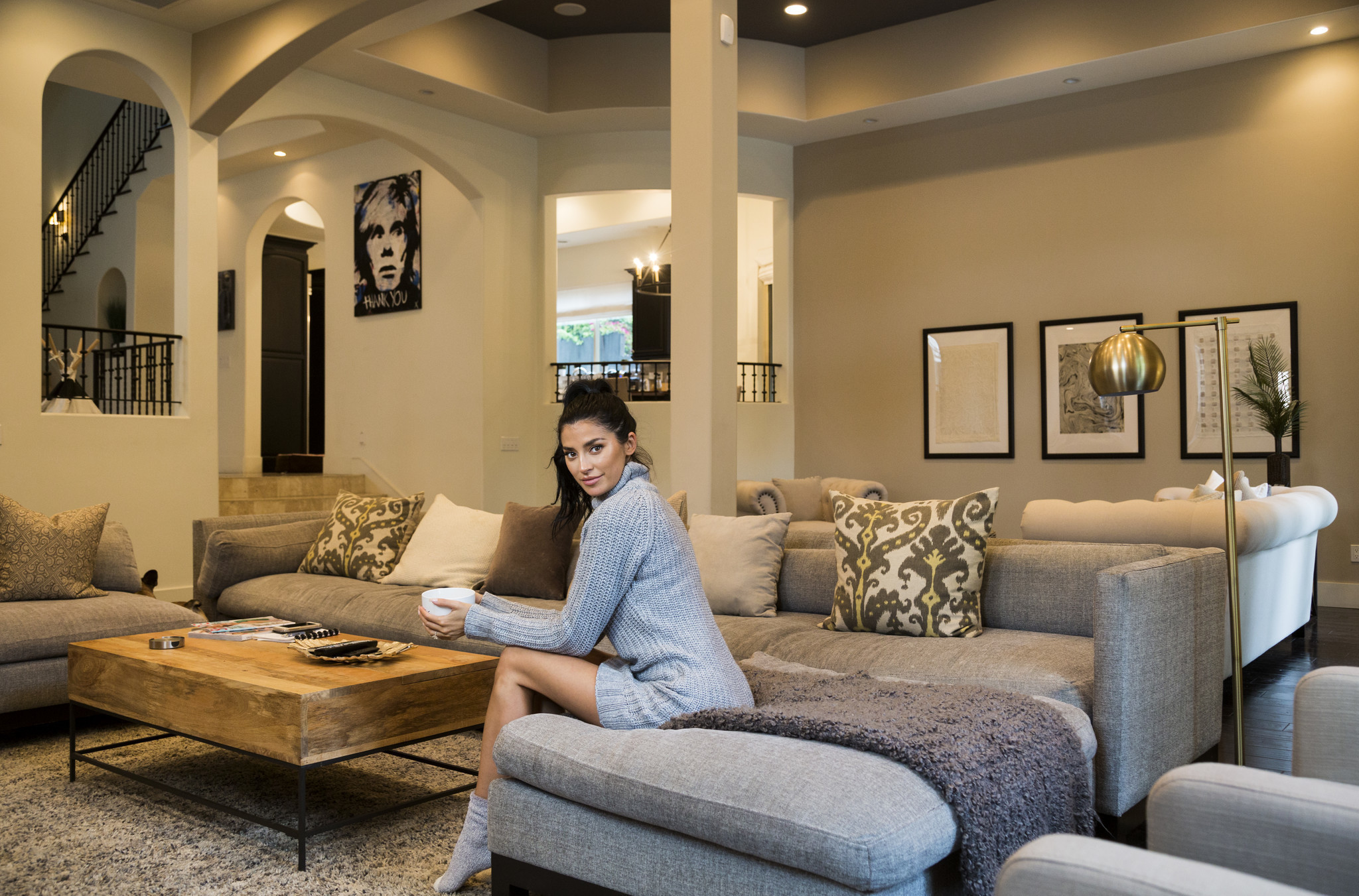 My Favorite Room Nicole Williams Shows Off Her Luxurious