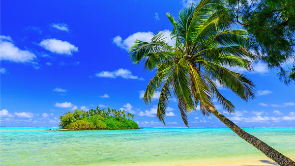 From LAX, a $795 round-trip fare to the South Pacific's Cook Islands on Air New Zealand