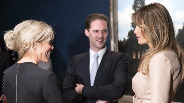 Melania Trump chooses Maison Ullens for Brigitte Macron meeting