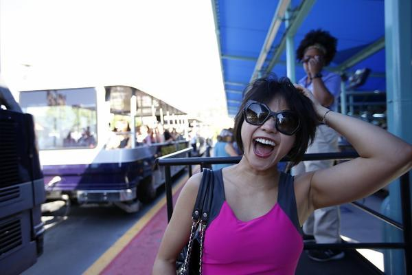 Piano virtuoso Yuja Wang could have gone anywhere for this interview. She chose ... Universal Studios?