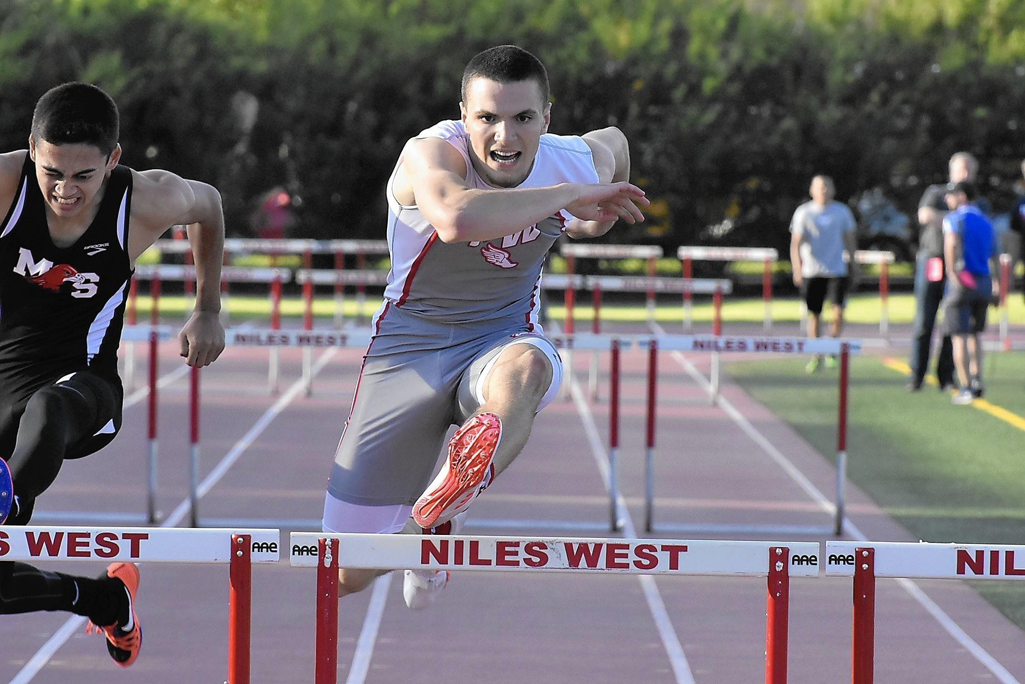 niles west track meet