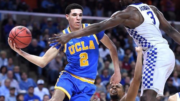 Lonzo Ball. (John Smith / Associated Press)