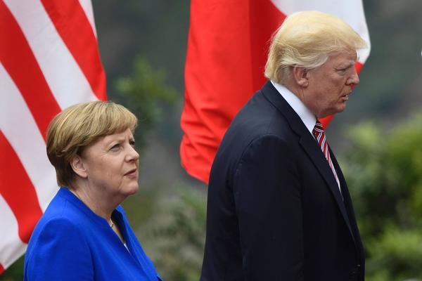 Trump ruffles feathers by calling Germans 'bad' — on trade