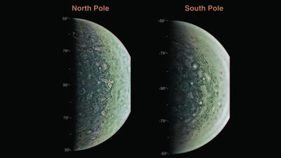 This is Jupiter? Giant planet surprises scientists in Juno's first flybys