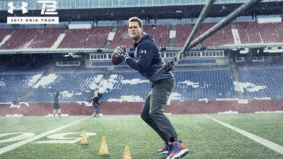 Tom Brady headed to Asia on Under Armour trip