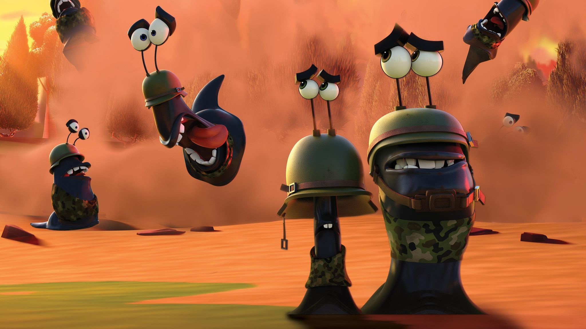 Mobile video game maker Seriously is releasing an animated short called Best Fiends Boot Camp.