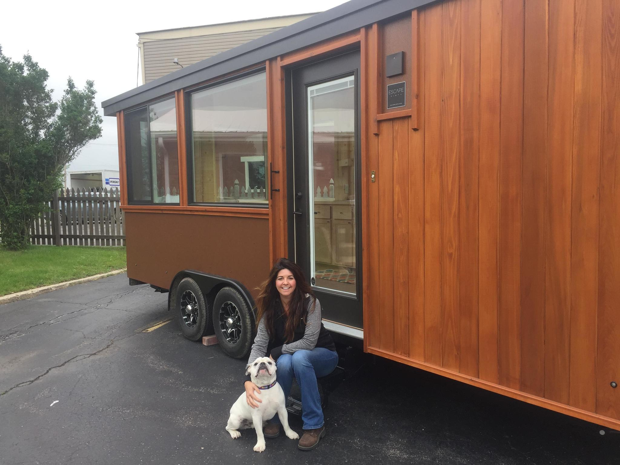 Gilberts business owner chronicles life with a tiny home