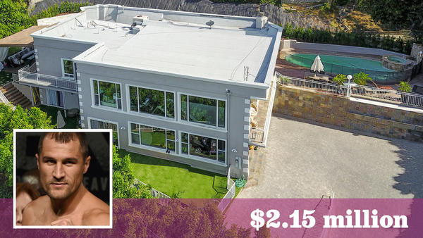 Boxer Sergey Kovalev is ready to spar with buyers for Sherman Oaks home
