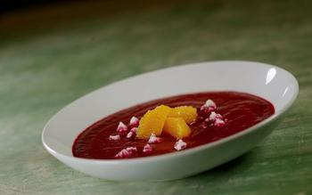 Jaleo's gazpacho de remolacha
