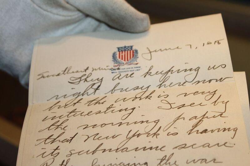 Beyond History Love Letters Humanize Waukegans World War