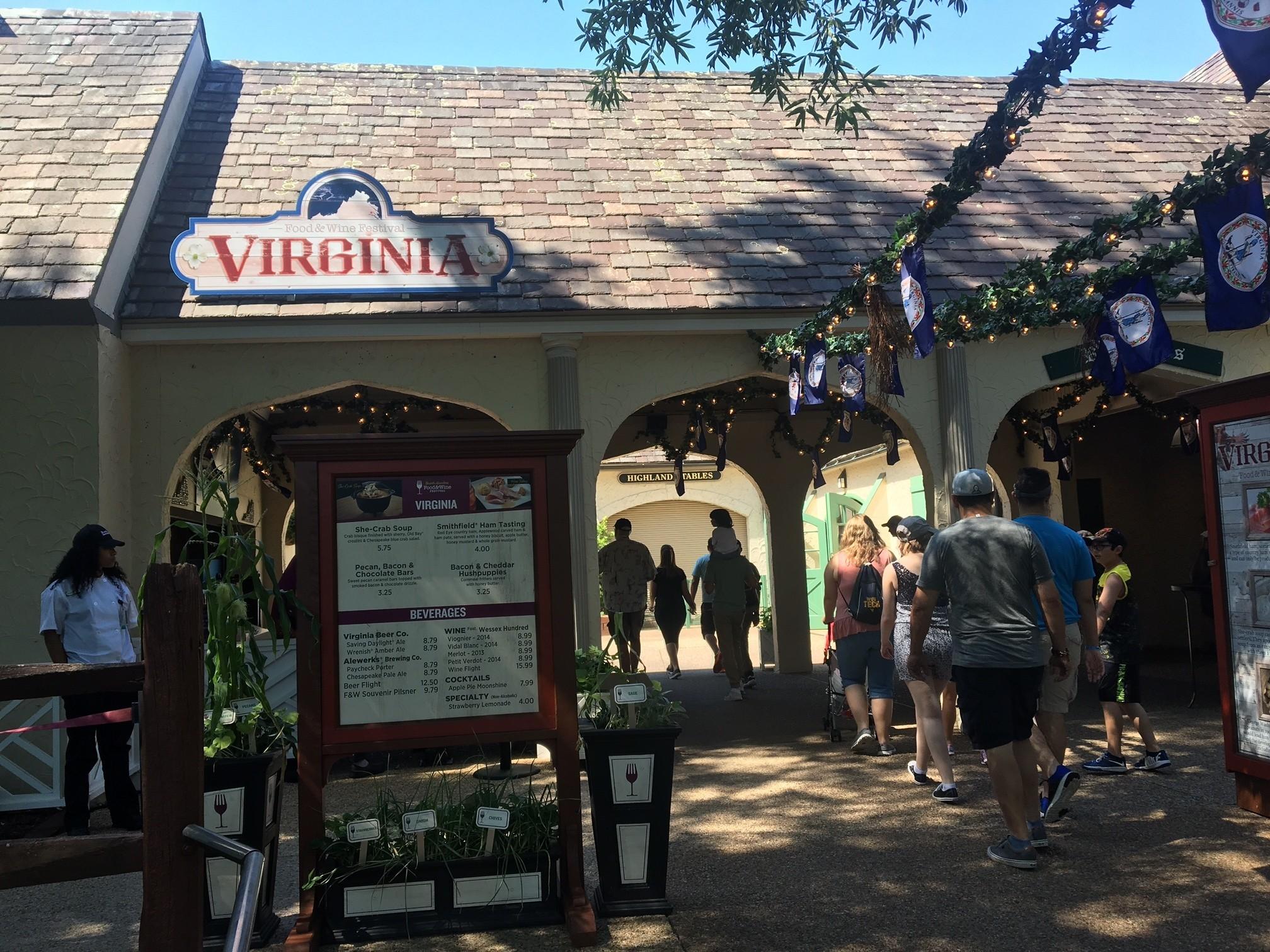 Guests Are Busch Gardens Enjoy Food Wine At Summer