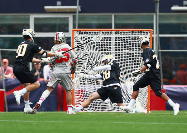 Ohio State takes over in 2nd half, tops Towson, 11-10, to reach title game