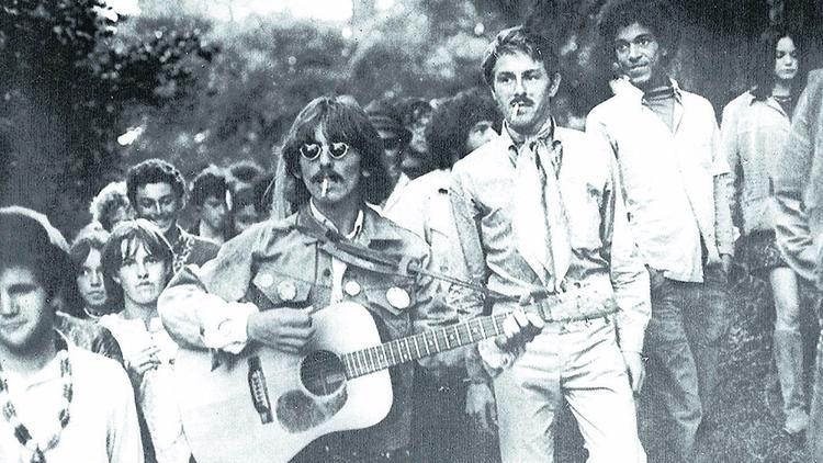 "George Harrison makes a surprise visit to San Francisco in August of 1967. He was not impressed. ""Th"
