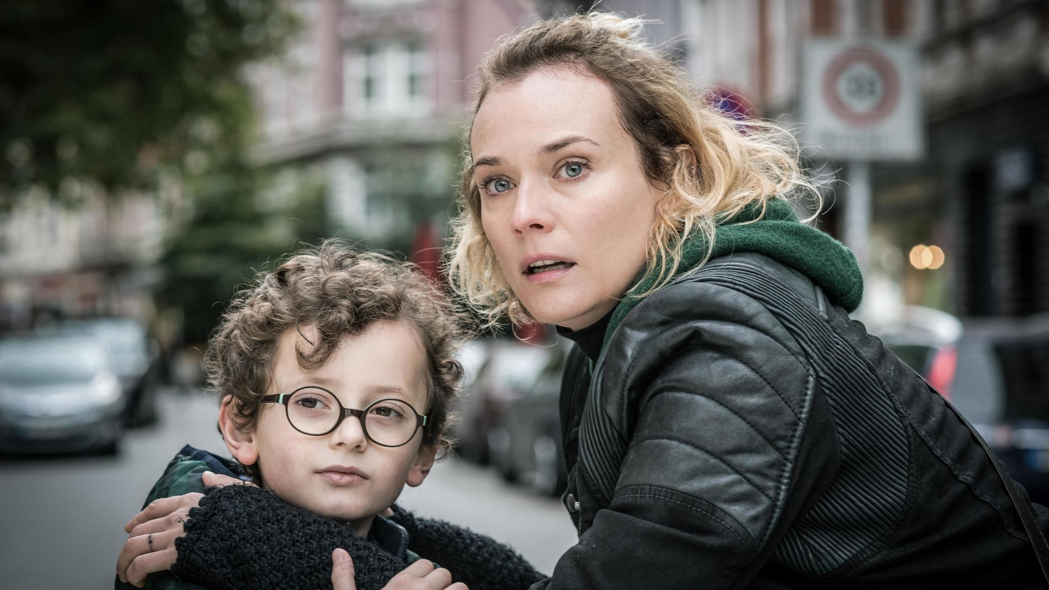 "Rafael Santana and Diane Kruger in the film ""In the Fade."""