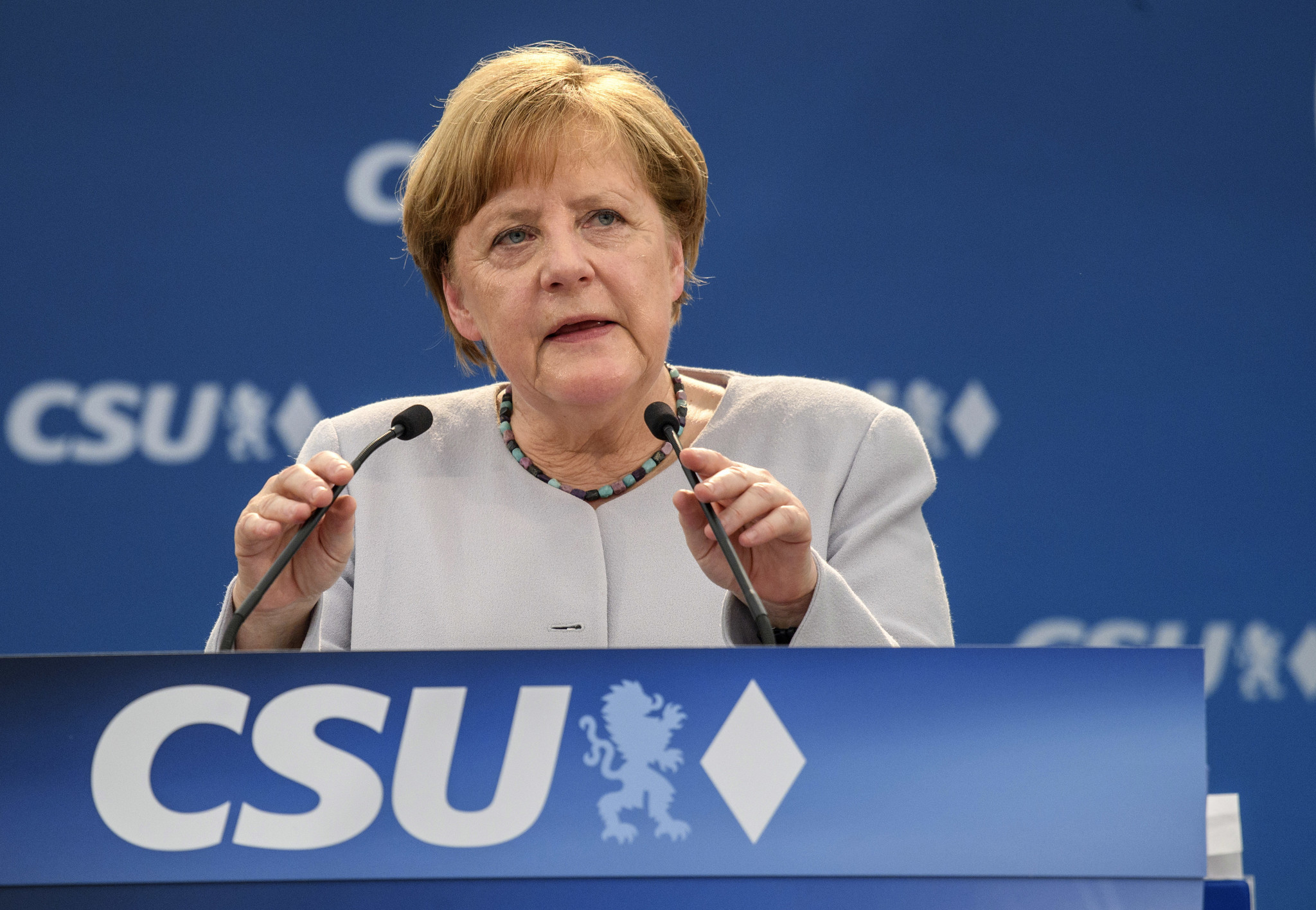 Following Trump's trip, Merkel says Europe can't rely on U.S. anymore