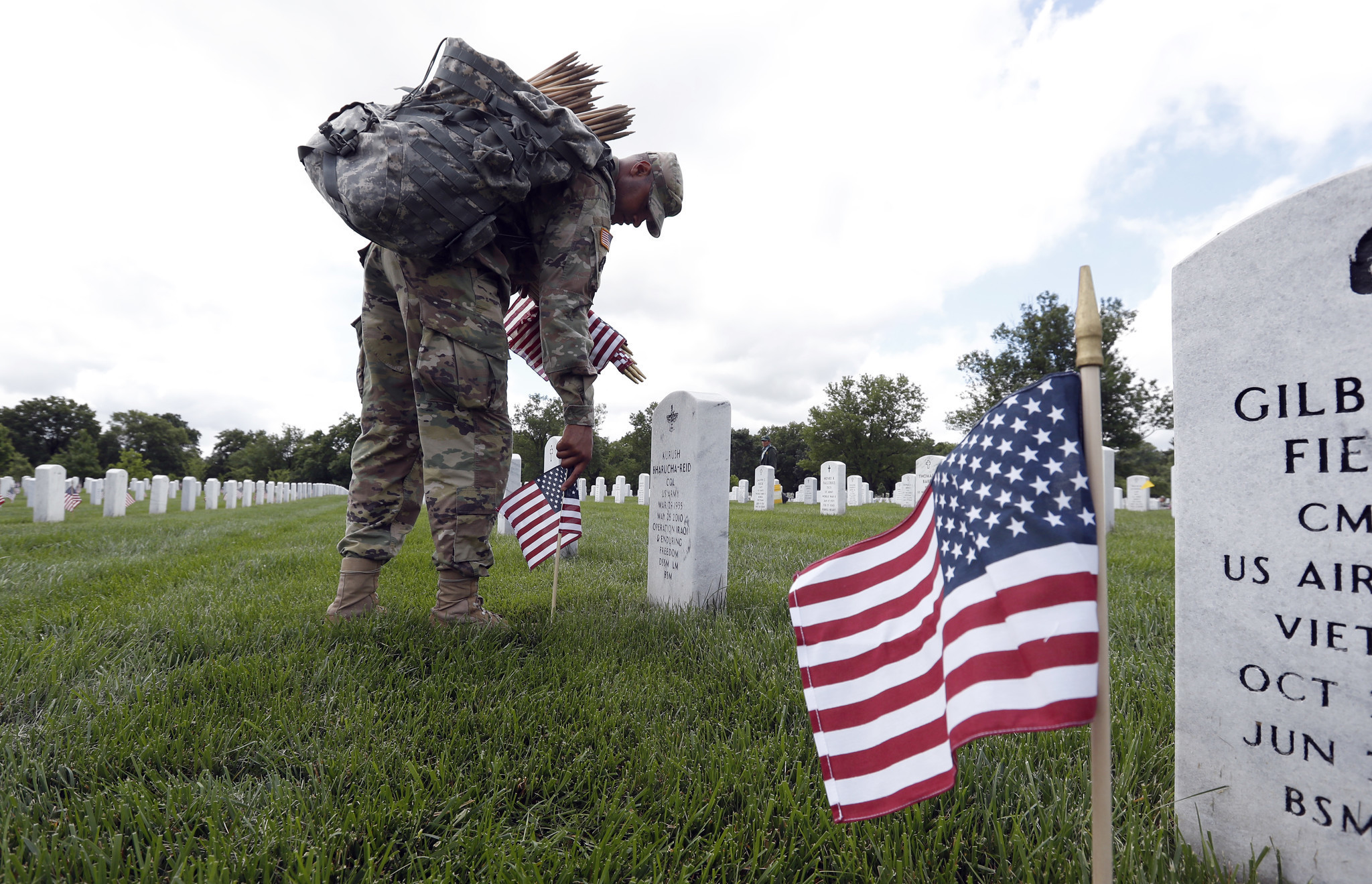 Memorial day the number of americans who have died in for Decoration day
