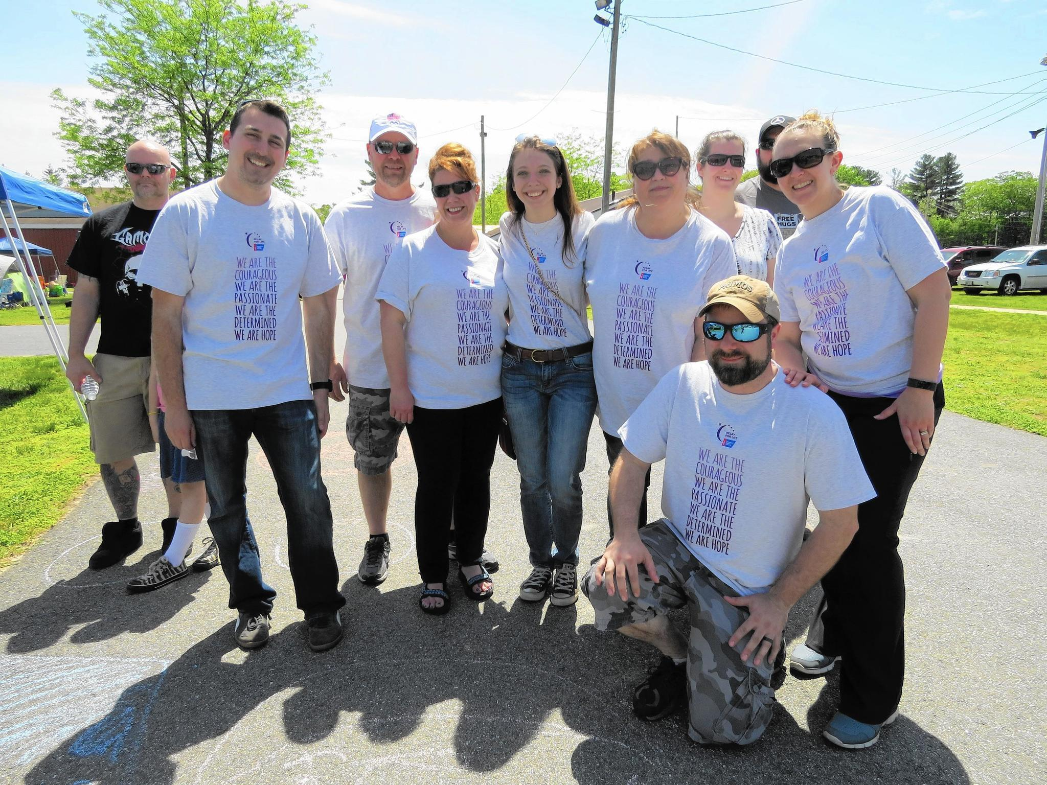 relay for life brings crowd out to support american cancer society