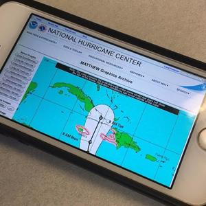 Make your smartphone your best friend in a hurricane