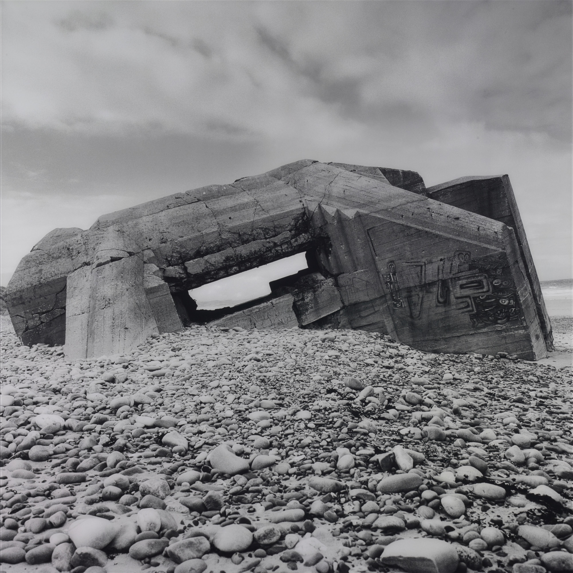 """Casemate SK667,"" 2006, by Jane and Louise Wilson."