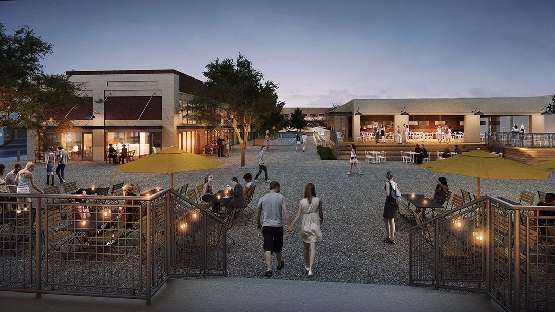 The 2.5-acre City Market South development, housed in the oldest wholesale produce market in Los Angeles.