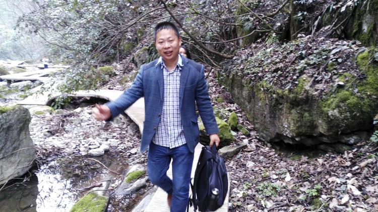 Li Zhao is seen in a 2016 photo released by Deng Guilian.
