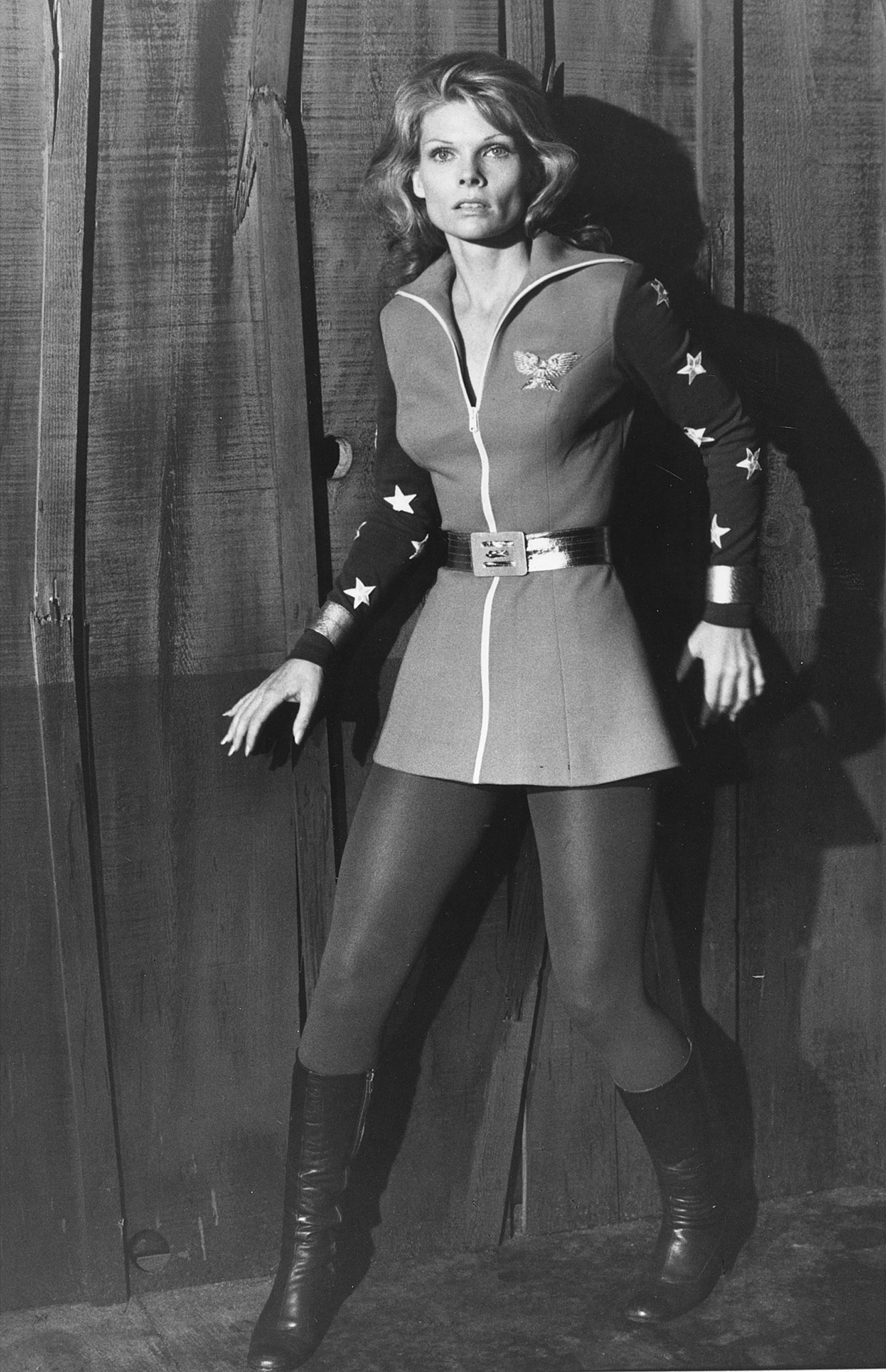 "Cathy Lee Crosby in ""Wonder Woman.""."