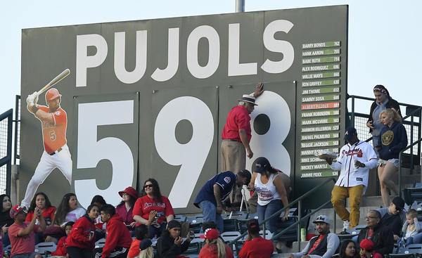 Breaking down all 598 of Albert Pujols