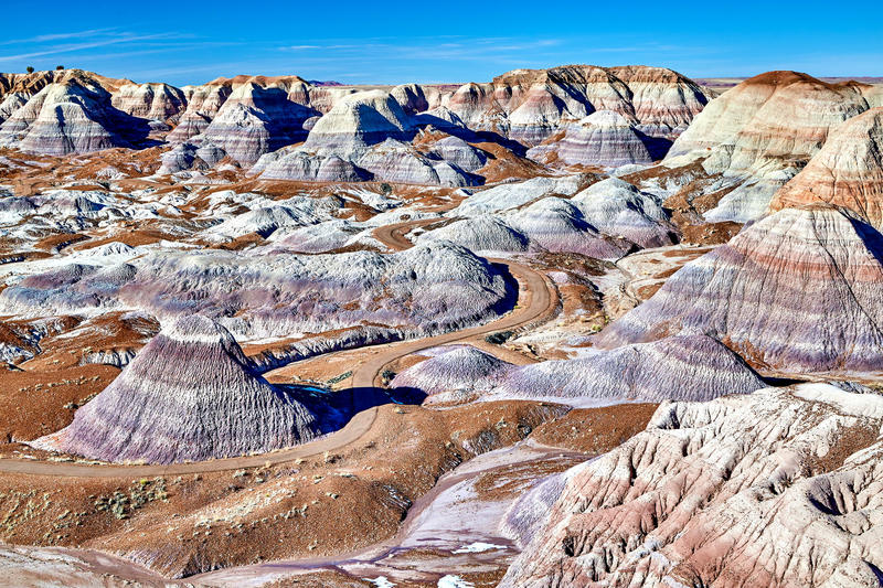 Blue Mesa Petrified Forest National Park (Peter Unger / Getty Images/Lonely Planet Image)