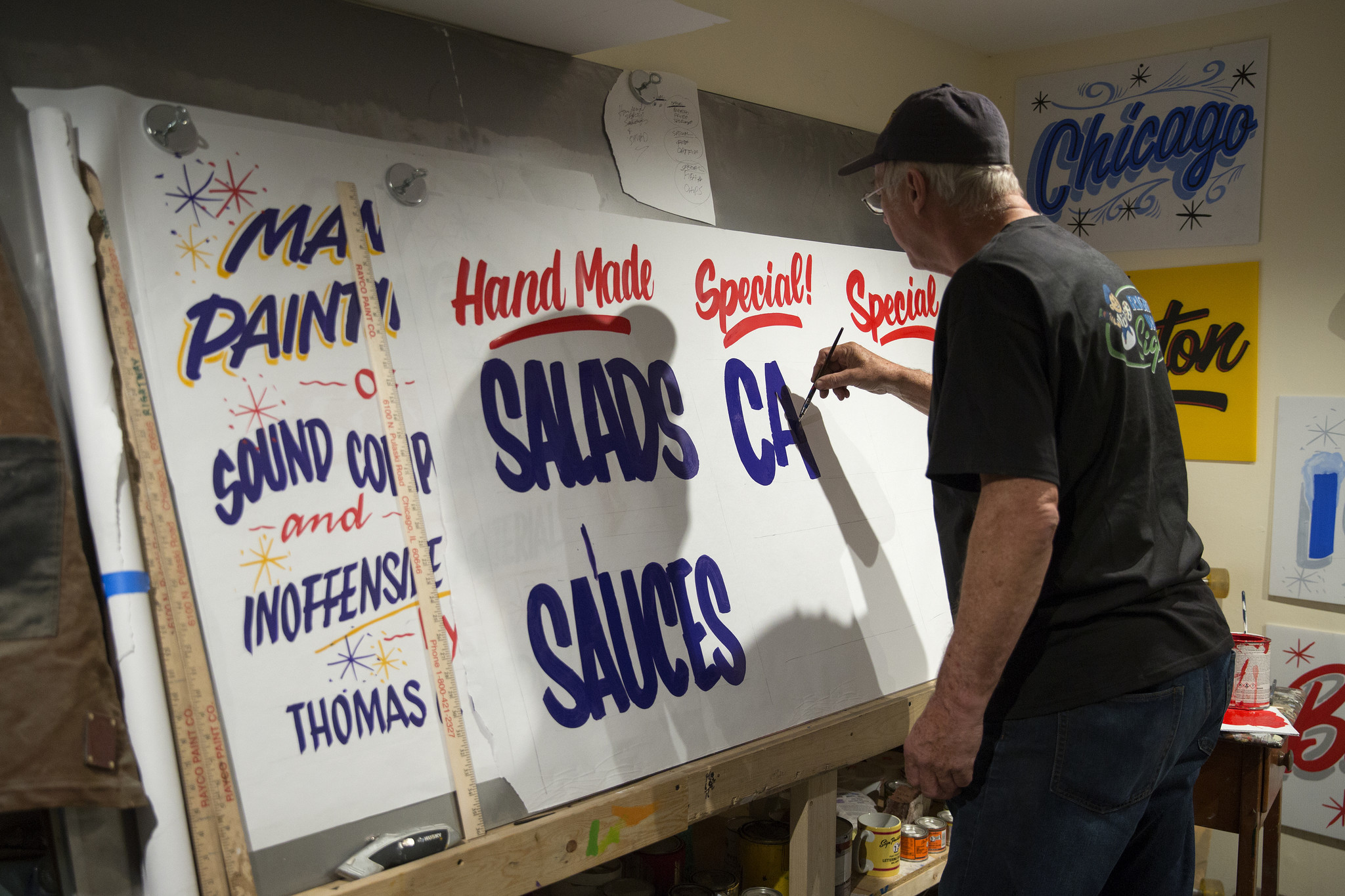 Grocery Hand Painted Sign