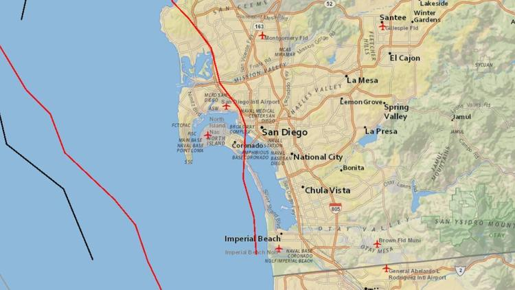 San Diego faces heightened risk of major earthquakes, studies say