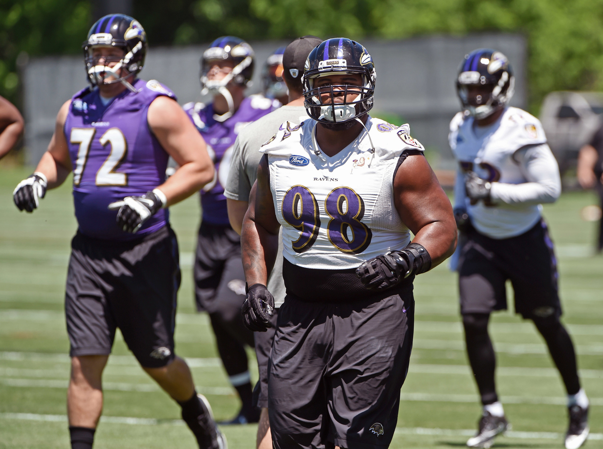 In first year of new contract Ravens Brandon Williams a veteran