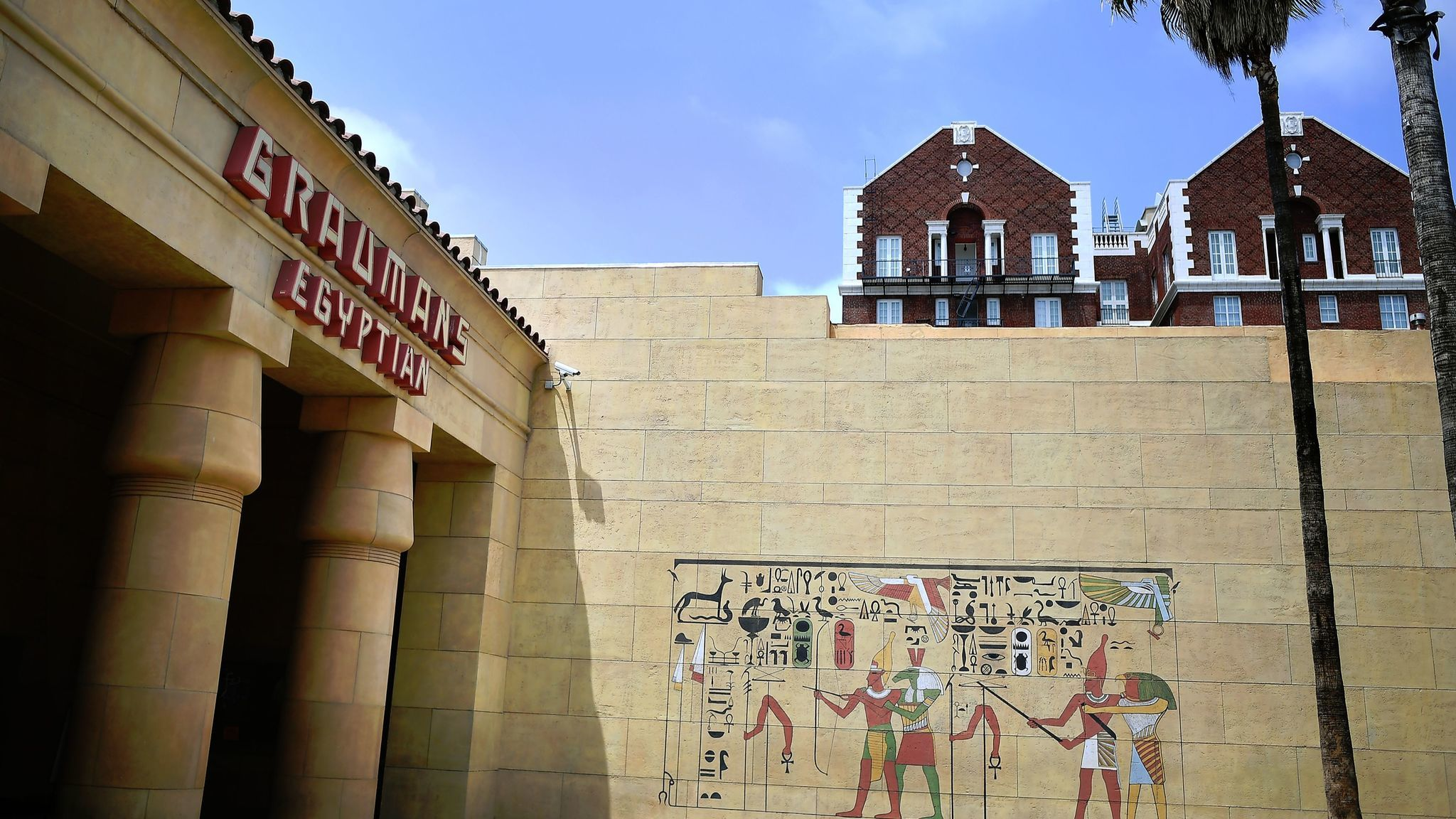 The Egyptian Theater in Hollywood.