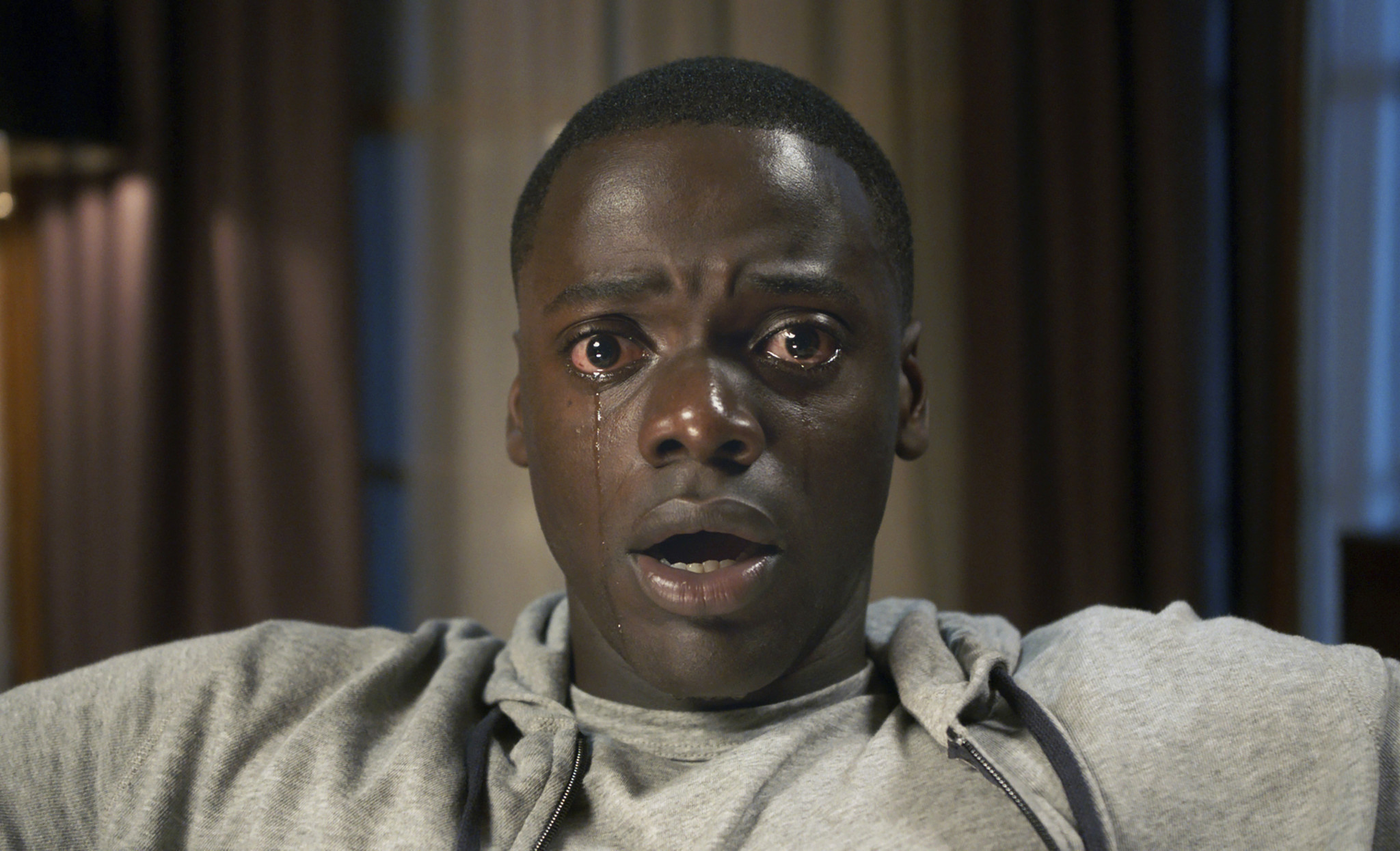 "Golden Globe nominee Daniel Kaluuya in Jordan Peele's ""Get Out."" (Universal Pictures)"