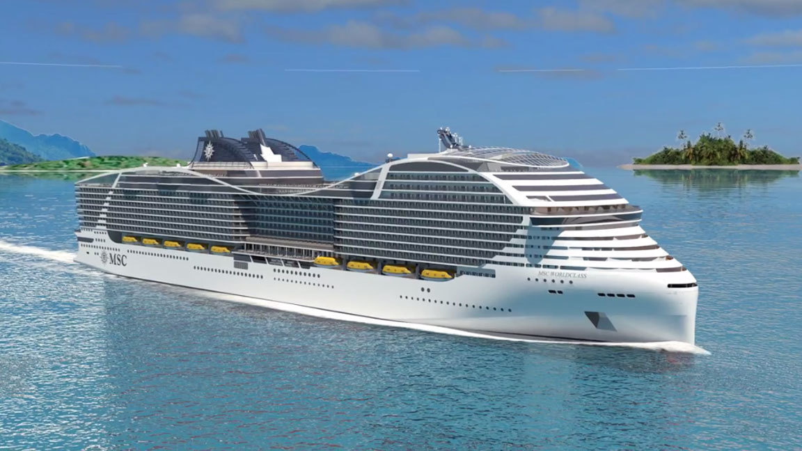 Msc Cruises Lays Out Plans For Massive World Class Of Cruise Ships Orlando Sentinel