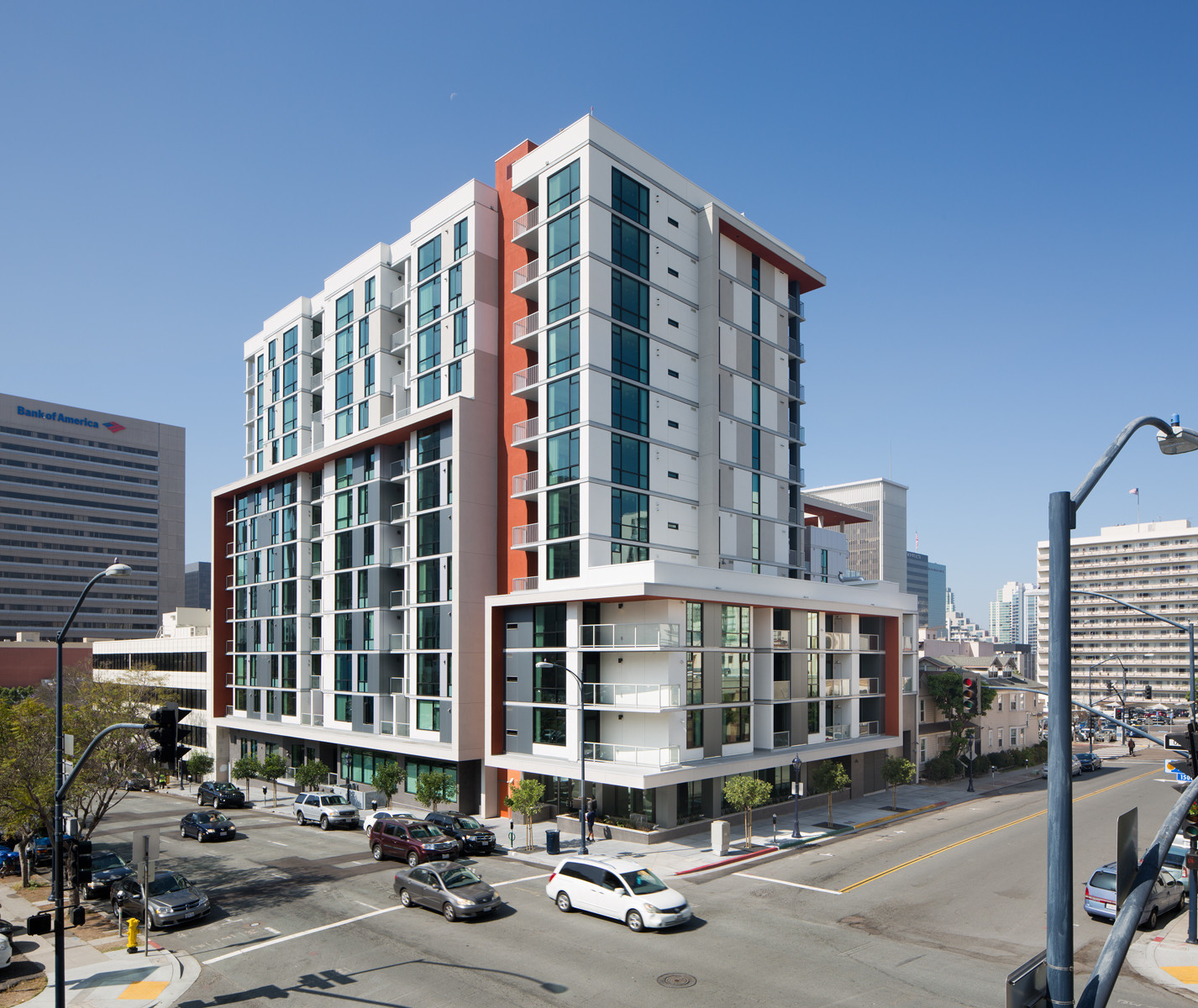Living in downtown san diego with a balcony for 525 a month the san diego union tribune - Apartment buildings san diego ...