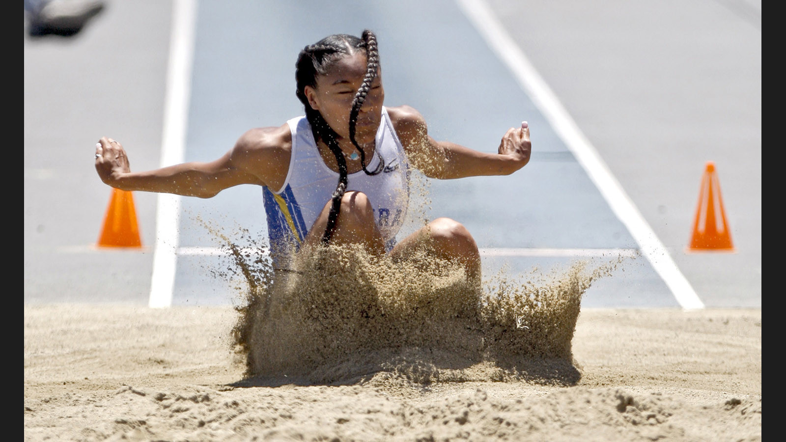 High temperatures and heated competition are expected at state track and field championships