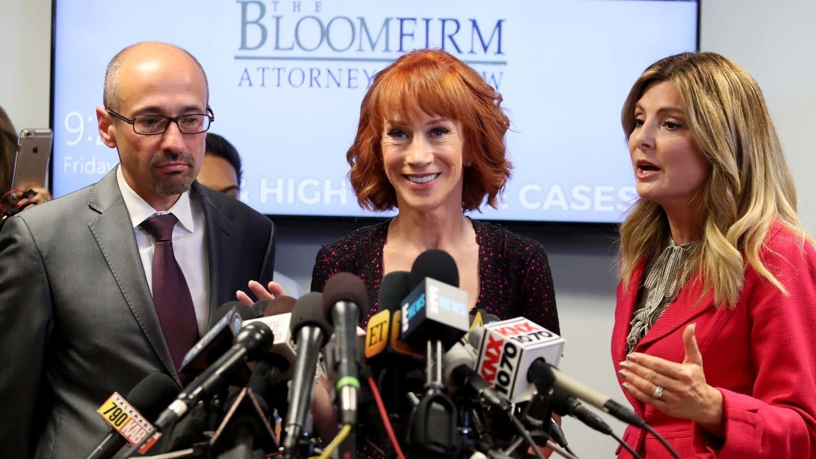 Here's what a defiant Kathy Griffin said at her Trump news conference. (Spoiler: She's not backing down)