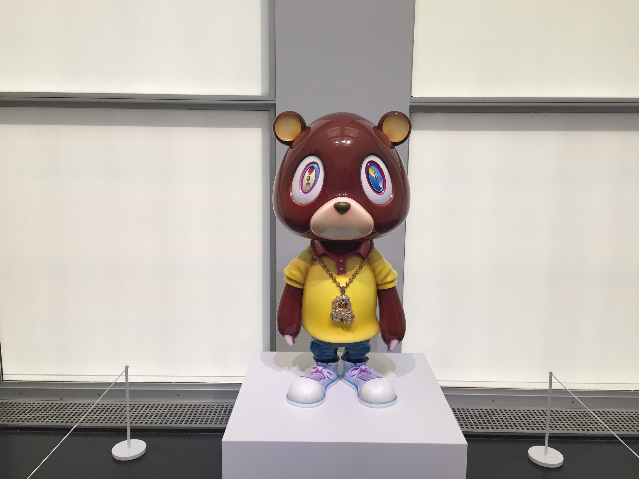 "Takashi Murakami, artist behind Kanye West's ""Graduation"" cover, opens exhibit at MCA Chicago"