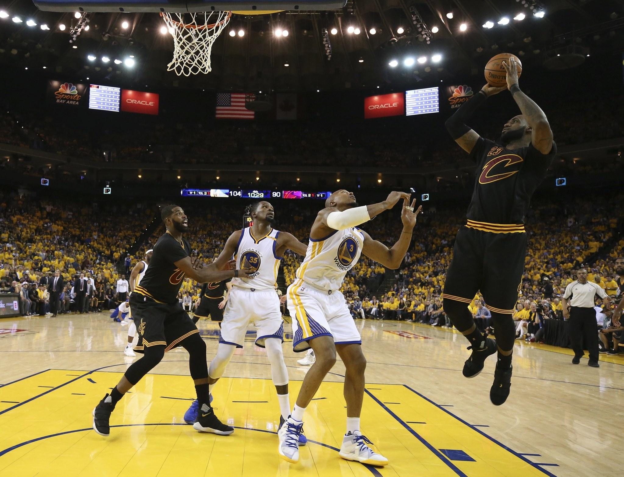 NBA Finals ratings the highest since Michael Jordan's last ...