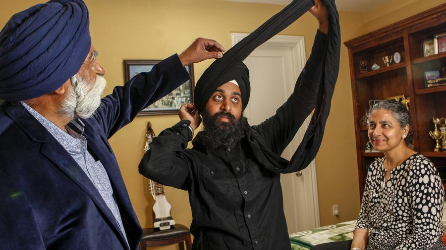 Sikhs say they've experienced a spike in racial slurs and crimes post-election