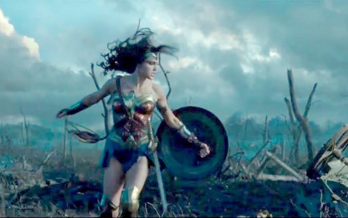 Film Wonderwoman Scene Chicago Tribune