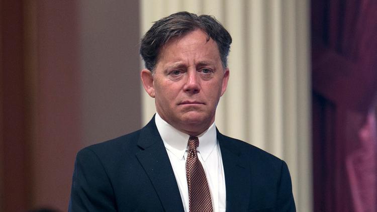 State Sen. Josh Newman (D-Fullerton). (Rich Pedroncelli / Associated Press)