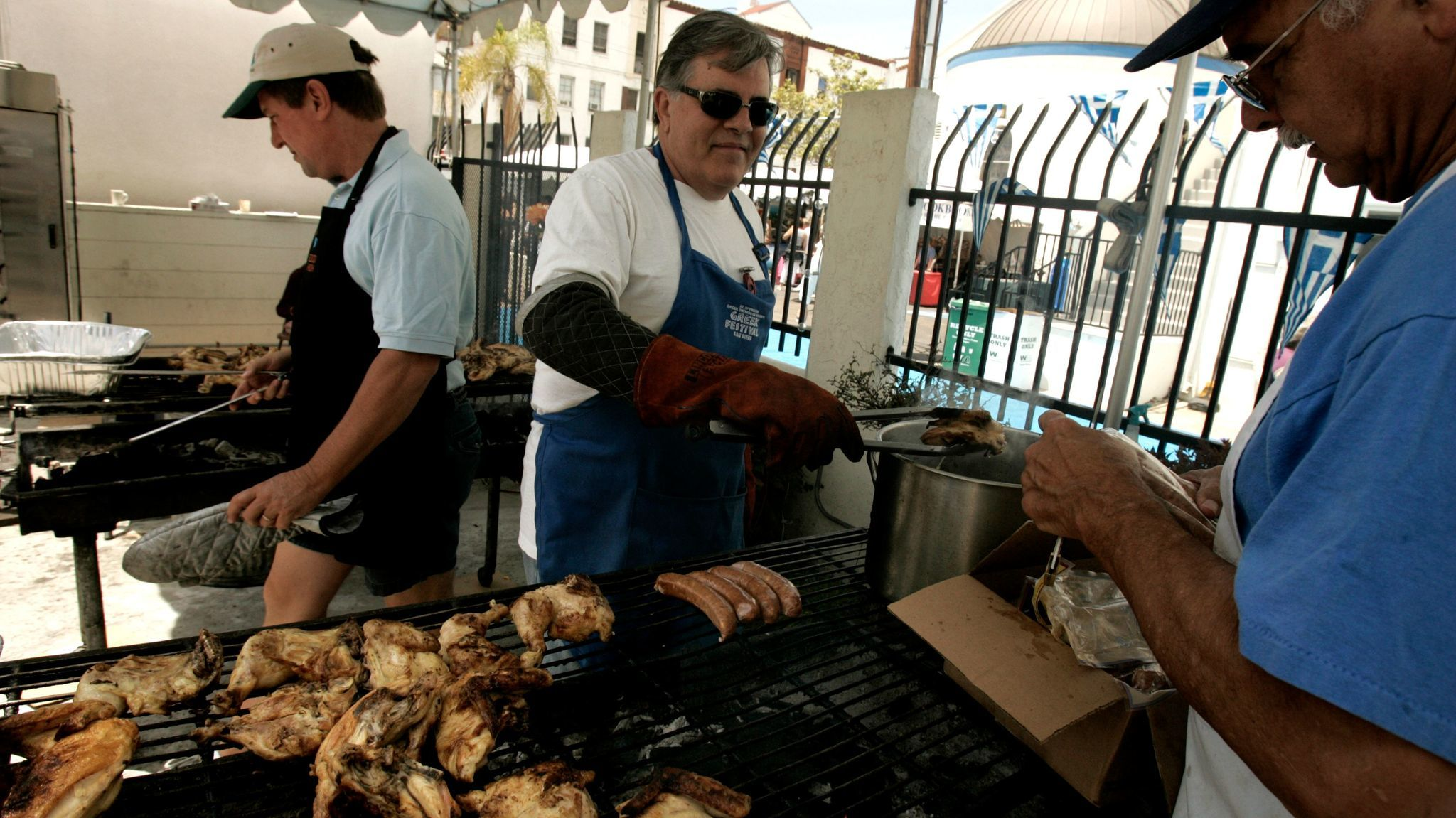 Create your own Greek festival chicken