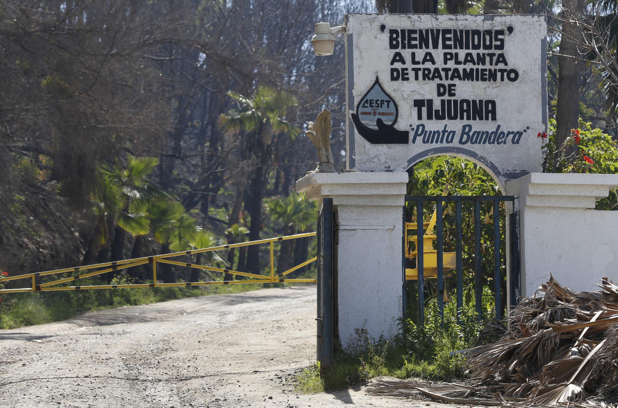 Failing Tijuana coastal sewage treatment plant in line for $24 7