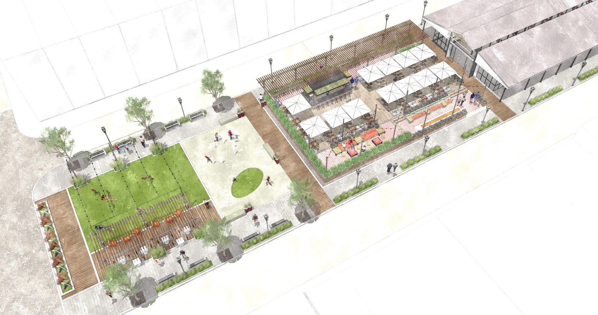 Proposed broadway market overhaul calls for restaurant for Fish market maryland