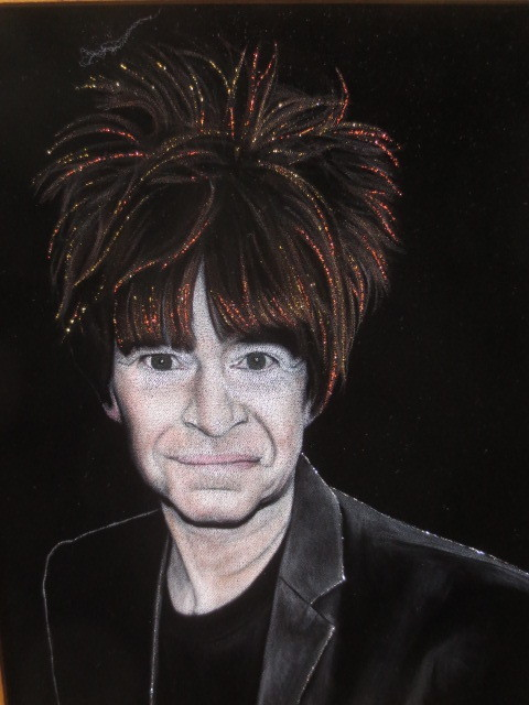 KROQ's Rodney Bingenheimer gets the black velvet treatment in a show devoted to punk at Velveteria.