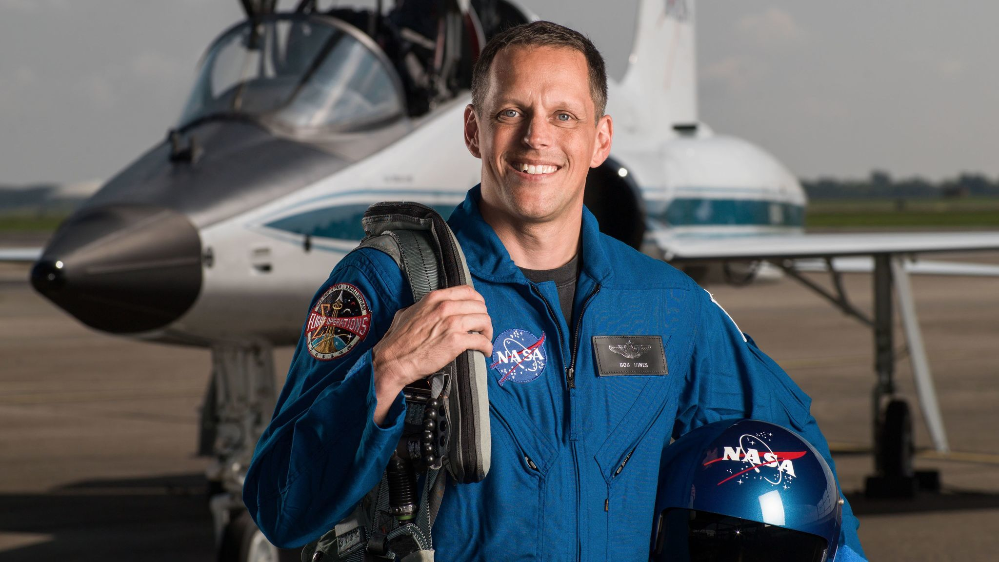 Astronaut Candidate Bob Hines