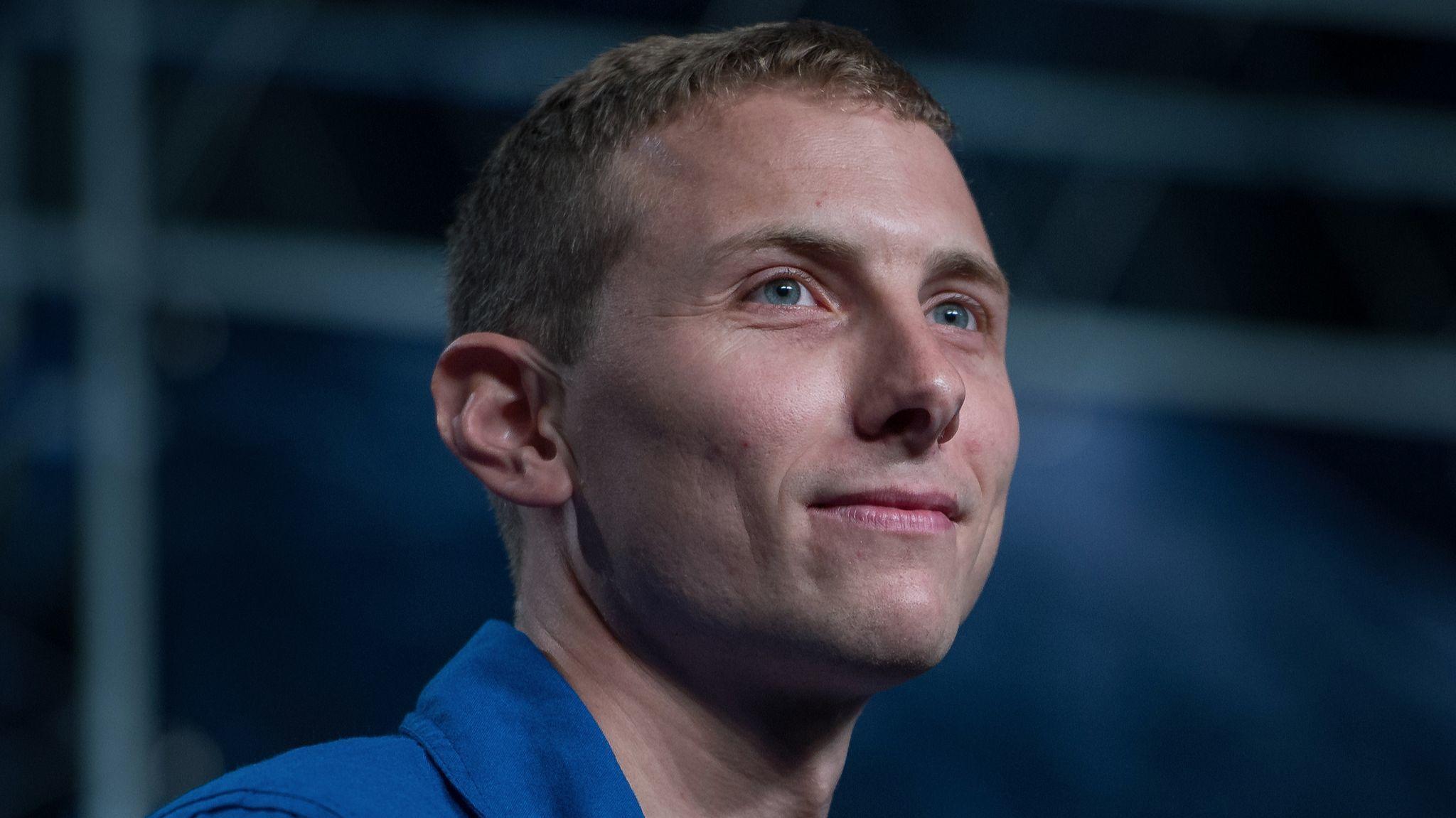 Astronaut Candidate Warren Hoburg