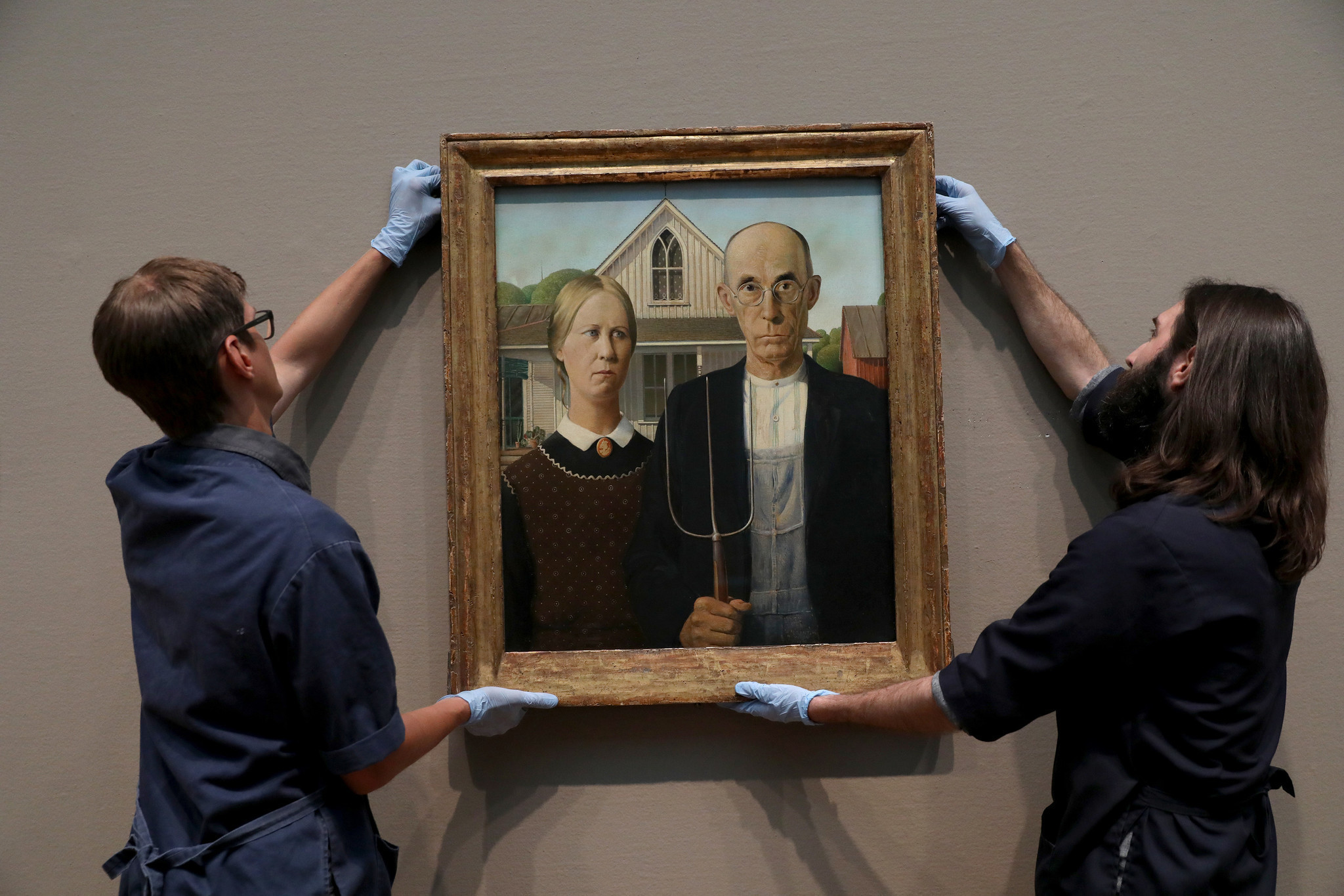 American Gothic Comes Home