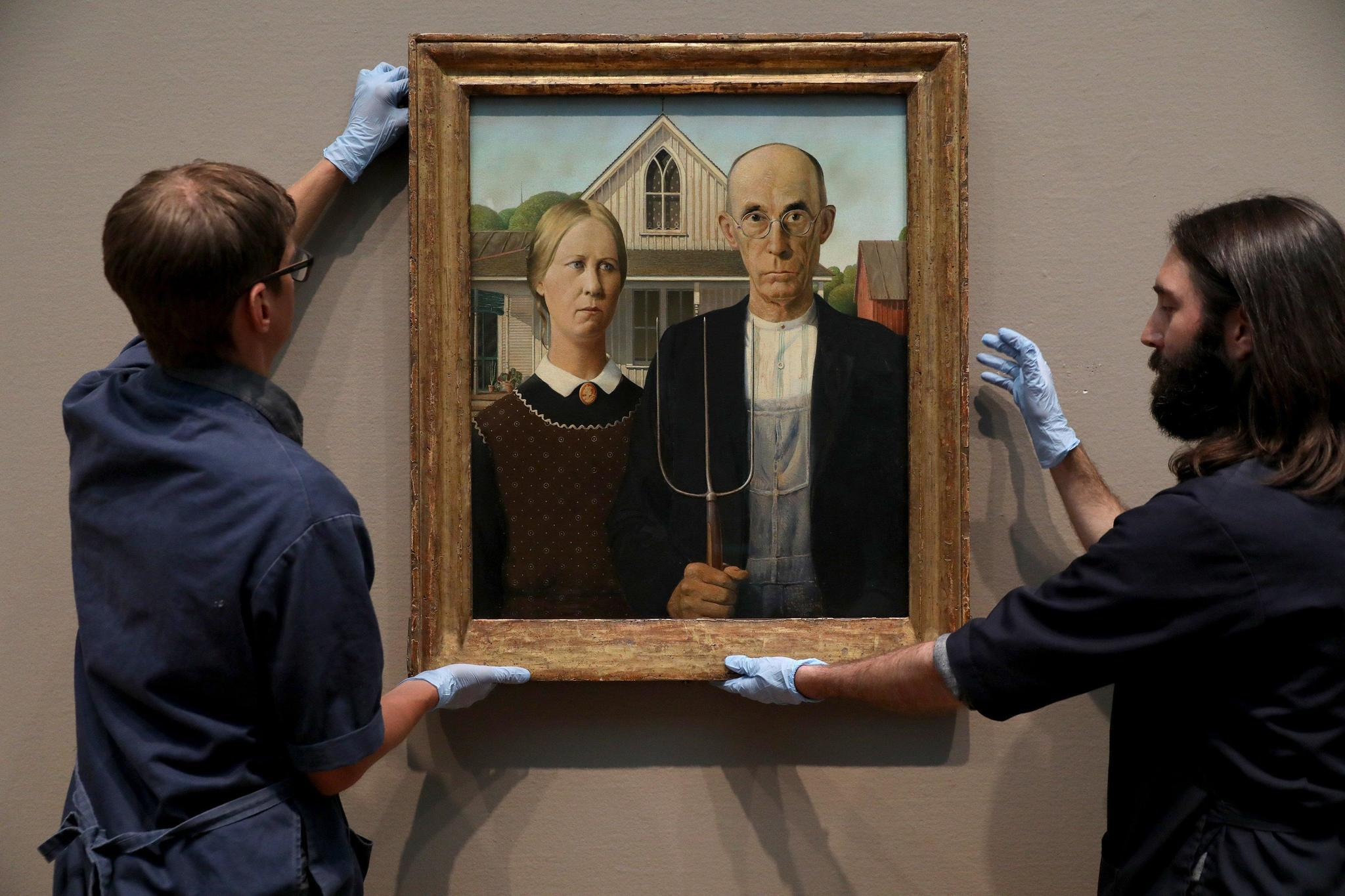 American Gothic Returns To Chicago After First European Trip